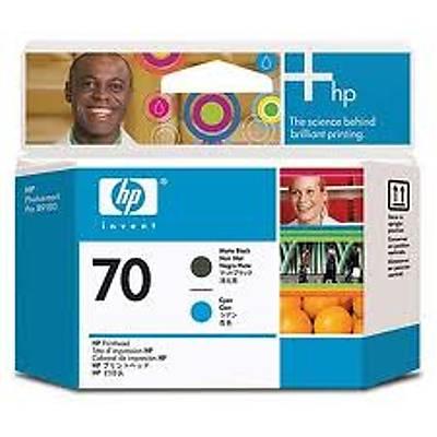 HP C9404A (70) MAT SIYAH VE CAMGOBEGI BASKI KAFASI