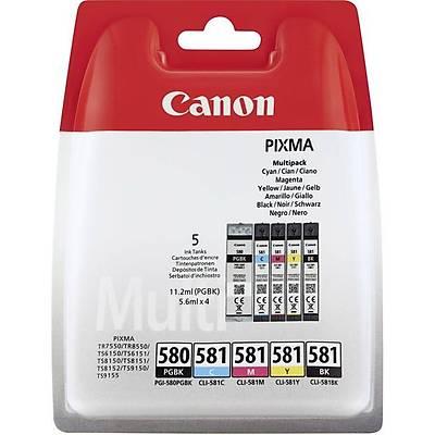Canon PGI-580/CLI-581 PGBK/C/M/Y/BK MULTI PACK 2078C005