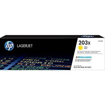 HP CF542X (203X) SARI YUKSEK KAPASITELI TONER 2.500 SAYFA