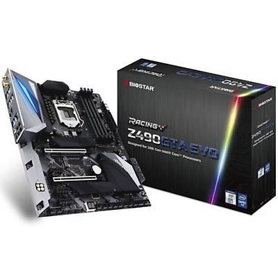 Biostar Racing Z490GTA EVO DDR4 S+V+GL 1200p Anakart