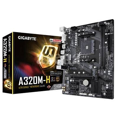 GIGABYTE A320M-H AMD A320 AM4 DDR4 3200MHZ DVI HDMI