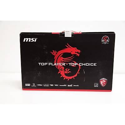 MSI NB GT72S 6QF(Dominator Pro G Dragon)-051TR I7-6820HK 64GB DDR4 GTX980 GDDR5 8GB SuperR4 512GB (2X256) SSD+1TB 7200RPM 17,3 FH