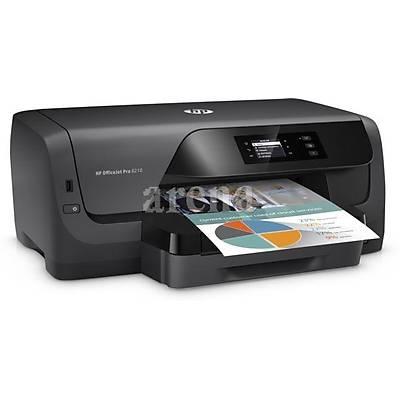 HP D9L63A Officejet Pro 8210 Renkli Inkjet 22/18ppm A4 Yazýcý