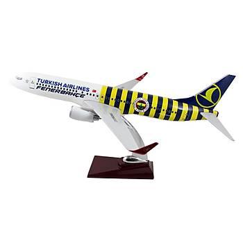 Boeing 737-800 Çubuklu Fenerbahçe Taraftar Uçaðý