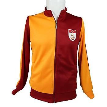 Galatasaray Parçalý Fermuarlý Sweat