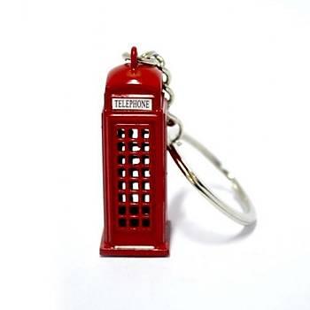 Anahtarlık Telefon Kulübesi