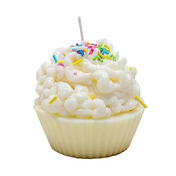 Cupcake Aromatik Kokulu Mum