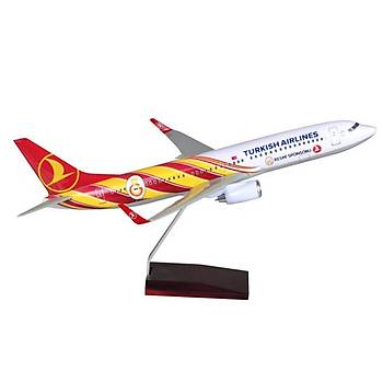 Galatasaray Maket Uçak B737/800 1/100 TK Collection