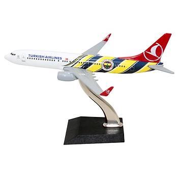 Fenerbahçe Maket Uçak B737 800 1/250 TK Collection