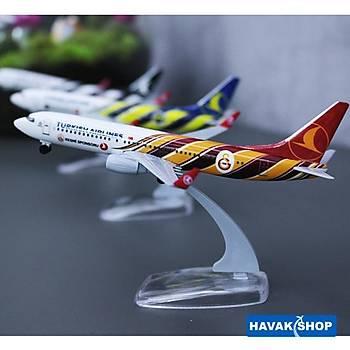 Galatasaray Plastik Maket Uçak B737 800 1/250 TK Collection