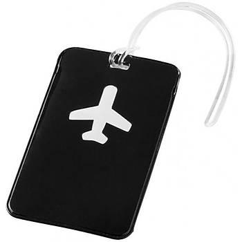 Valiz Etiketi Uçak Tasarımlı
