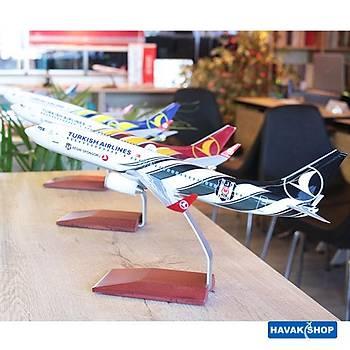 Beþiktaþ Maket Uçak B737 800 1/100 TK Collection