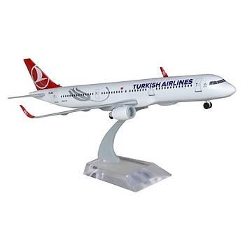 A321 1/200 Neo Plastik Maket Uçak TK Collection