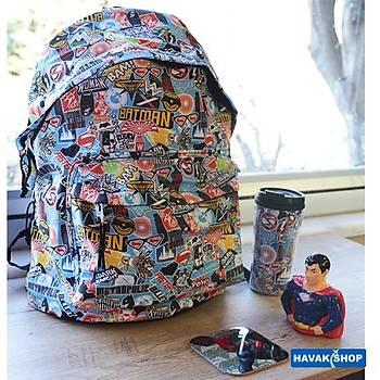 Batman v Superman Sırt Çantası