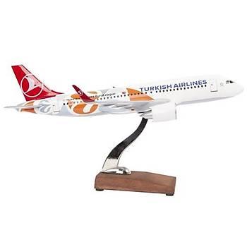 Euroleague A320 1/100 Model Uçak TK Collection