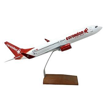 CORENDON BOEING 737 800 1/100 ÖLÇEK