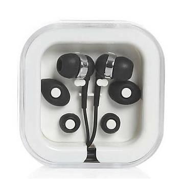 Mikrofonlu Mini Siyah Kulaklýk