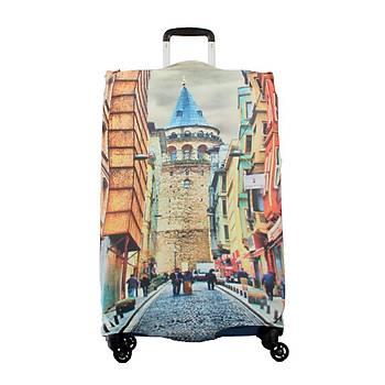 Valiz Kýlýfý Galata Kulesi