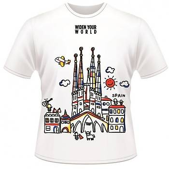 Spain T-Shirt TK Collection