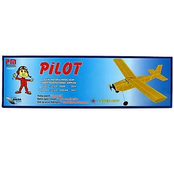 Pilot Lastik Motorlu Model Uçak
