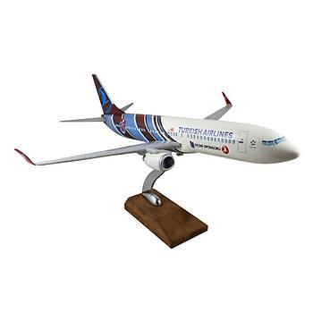 TRABZON MAKET UÇAK 737-300 1/100 ÖLÇEK