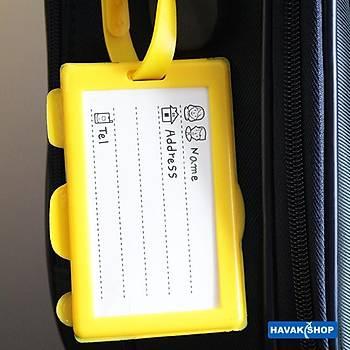 Valiz Etiketi Kamera