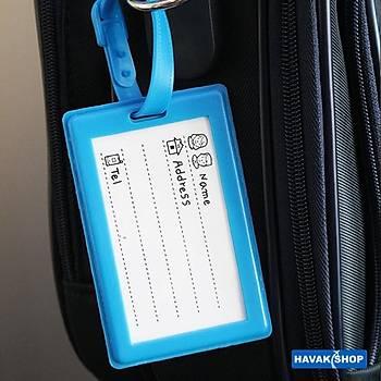Valiz Etiketi Uçak