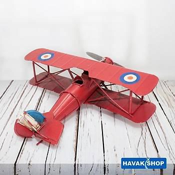 Kýrmýzý Metal Maket Uçak