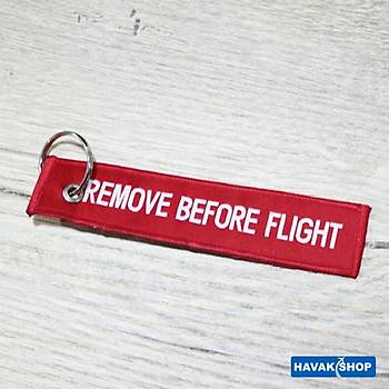 Anahtarlık B-737 Remove Before Flight