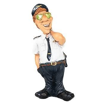 Ceketi Sýrtýnda Pilot Biblo