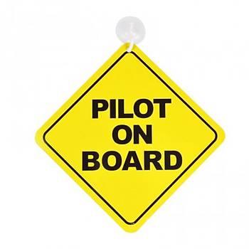 Araba Levhası Pilot on Board