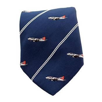 Kravat Uçak Dokumalý