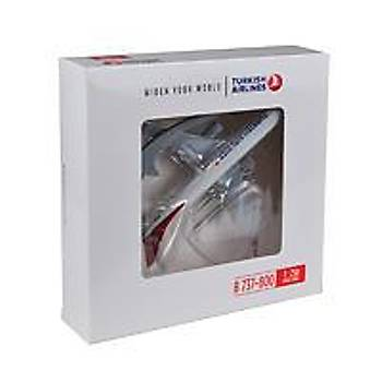 Plastik Maket Uçak B737-800 1/250 TK Collection