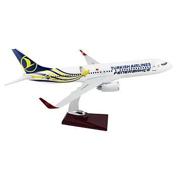 Boeing 737-800 Özel Üretim Model 3 Fenerbahçe Taraftar Uçaðý