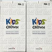 Shinhung Kids Crown Paslanmaz Çelik Kuron Set Molar 48 Li