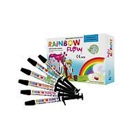 Cerkamed Rainbow Flow Renkli Flow Kompozit Set
