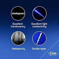 FGM White Post DC - E Cam Fiber Post Drilli Set 25 li