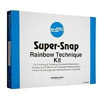 Shofu Super Snap Rainbow Kompozit Cilalama ve Bitirme Disk Seti