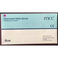 MCC Nitrile Eldiven Mavi
