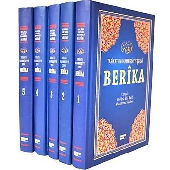 Berika (5 Cilt - Þamua Kaðýt) Tarikatý Muhammediyye Þerhi - Muhammed Mevlana & Ebu Said Hadimi