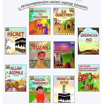 Çocuklar Ýçin Peygamberimizin Hayatý Medine Dönemi (10 Kitap)