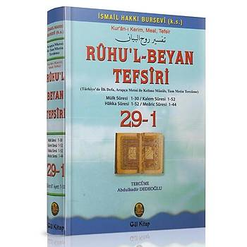 Ruhul Beyan Tefsiri Tercümesi 29-1 - Abdülkadir Dedeoðlu