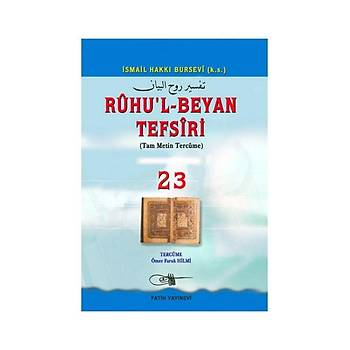 Ruhul Beyan Tefsiri Tercümesi 23-2 - Osman Þen