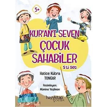 Kur'aný Seven Çocuk Sahabiler (5 Kitap) - Hatice Kübra Tongar