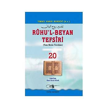 Ruhul Beyan Tefsiri Tercümesi 20 - Osman Þen