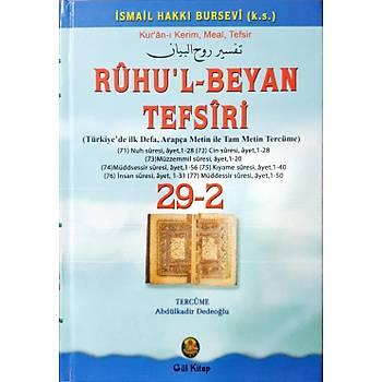 Ruhul Beyan Tefsiri Tercümesi 29-2 - Abdülkadir Dedeoðlu