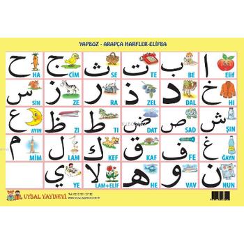 Yapboz - Arapça Harfler Elifba