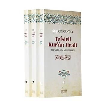 Tefsirli Kuran Meali (3 Cilt) - Hasan Basri Çantay