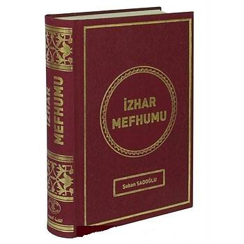 Ýzhar Mefhumu - Þaban Sadoðlu