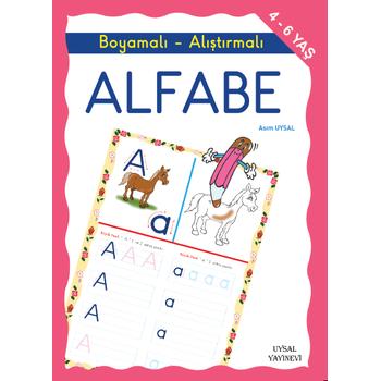 Boyamalý ve Alýþtýrmalý Alfabe - Asým Uysal